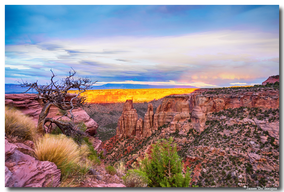 Colorado National Monument Timed Stack Art