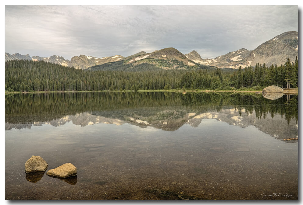 Colorado Brainard Lake Reflection