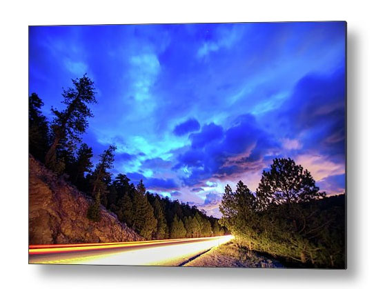 Highway 7 To Heaven Metal Print