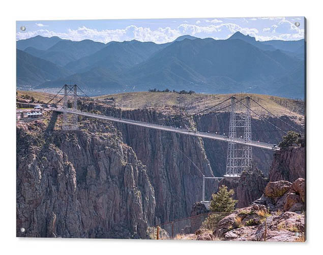 Royal Gorge Bridge Colorado Acrylic Print