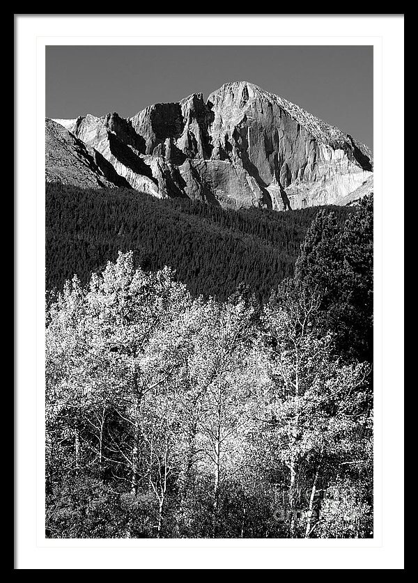 Longs Peak 14256 Ft - Buy a print starting  at $20